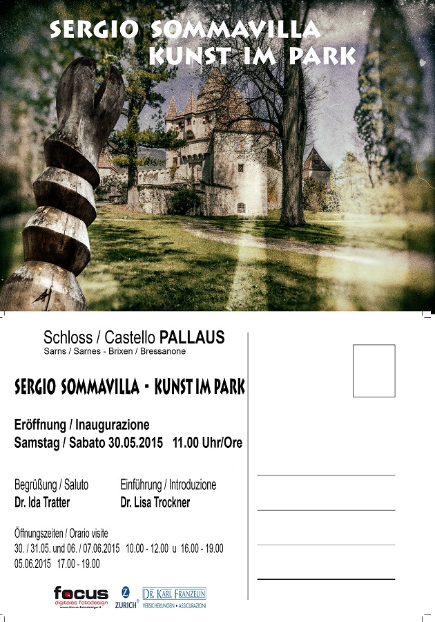 Sommavilla Ausstellung Sarns Brixen - Kunst in Südtirol