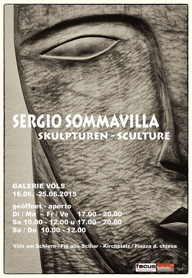 Künstler Südtirol - Sommavilla Ausstellung Völs