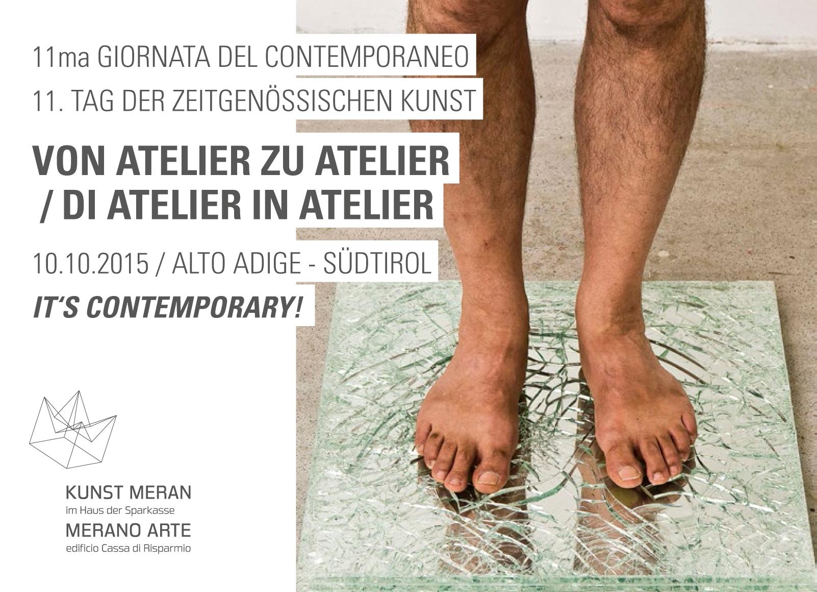 Tag der Zeitgenössischen Kunst Von Atelier zu Atelier Sergio Sommavilla
