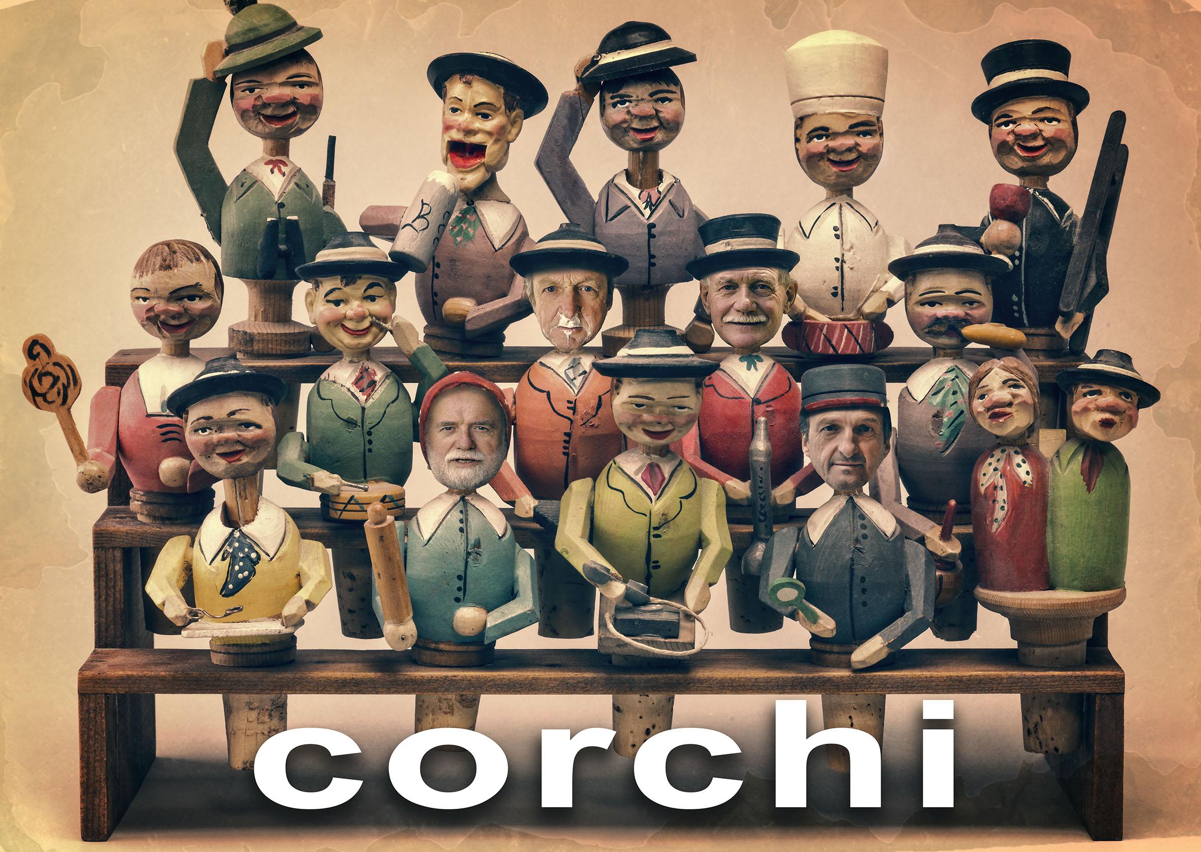 Sommavilla Ausstellung Corchi - Stöpsel Adler Art